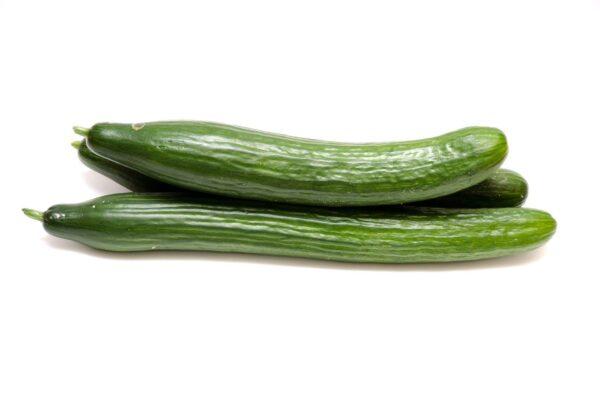 cucumbers, salad, vegetables